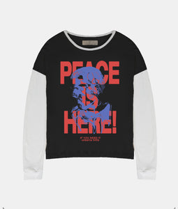 PEACE IS HERE LONGSLEEVE