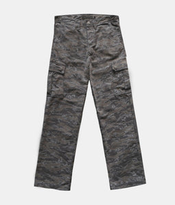 SICKLE CAMO CARGO PANTS (BROWN)
