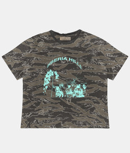 SICKLE CAMO LOGO T-SHIRT