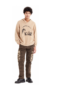 Tan Batwing Pullover