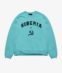 Siberia Blood Crewneck - Teal