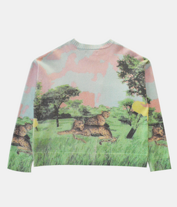AFRICA KNIT SWEATER