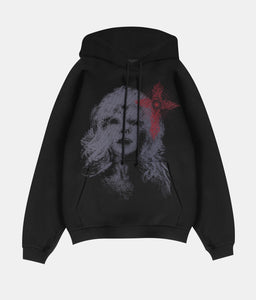 Ghost Of A Woman Hoodie - Black