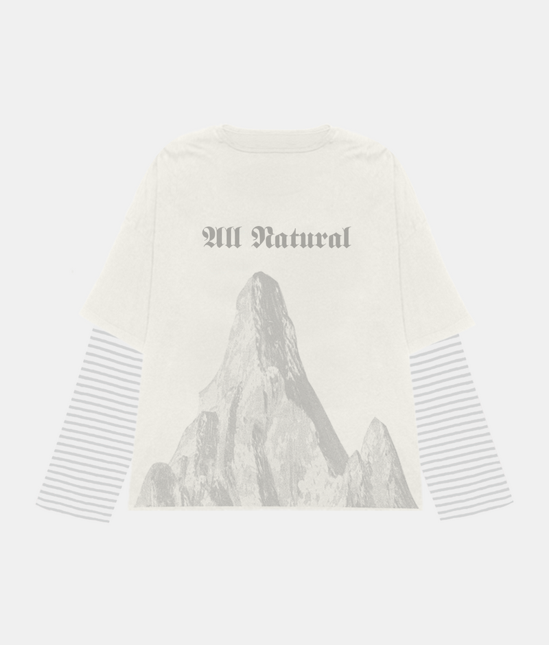 Killamanjaro Double Layered Longsleeve Tee - Off White