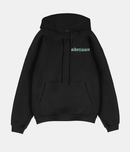 Siberiaism Moon Cycle Hoodie - Black