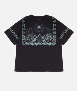 Tibetan Mountain T-Shirt - Black