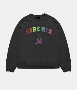 Siberia Blood Crewneck - Black