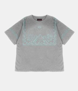 Tibetan Mountain T-Shirt - Grey