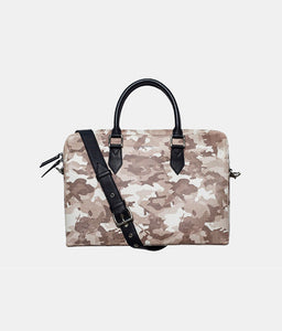 Snow Camo Laptop Bag