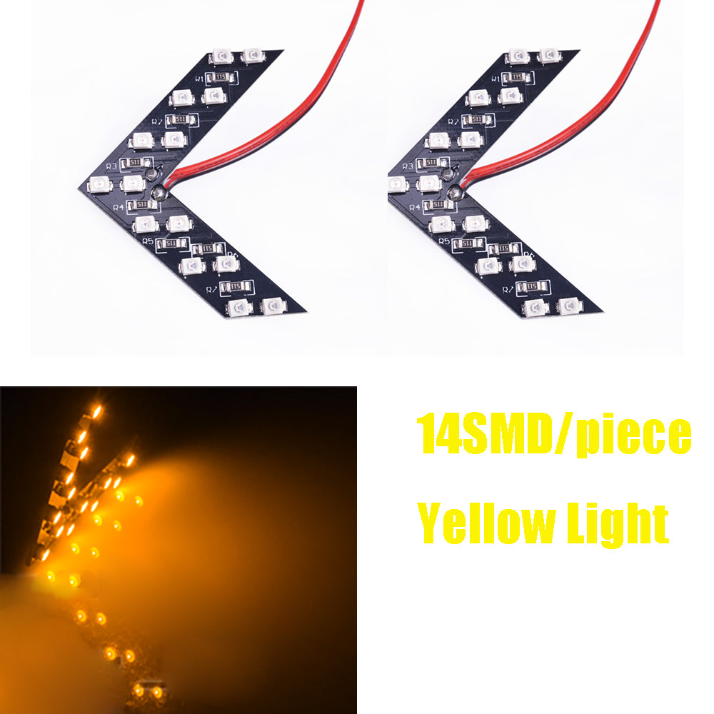 LEADTOPS Arrow 2 Pcs/lot 5 Led Colors
