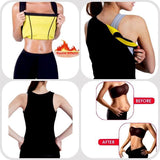 Fat Burner Weight Loss Hot Thermo Neoprene Sweat Sauna Vest