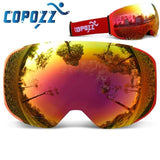 Ski Snowboard Goggles Replaceable Magnetic Lenses UV400 Anti-Fog_V2 - Fitactivityshop