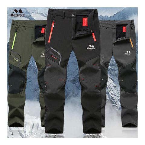 Men's Winter Waterproof Ski Trekking Hiking Pants - Fitactivityshop