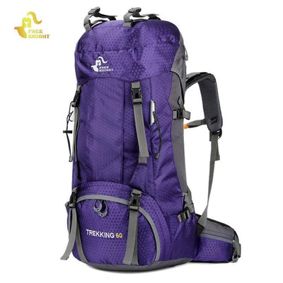 60L Waterproof Climbing Hiking Backpack Rain Cover Sport Outdoor Backpack - Fitactivityshop