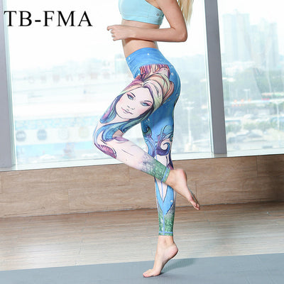 Yoga Pants for Women Compression and High Waist Workout Leggings - Fitactivityshop