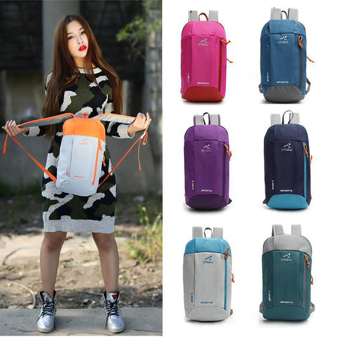 Backpack Rucksack Waterproof Backpack Leisure Sports Bags Traveling Hiking