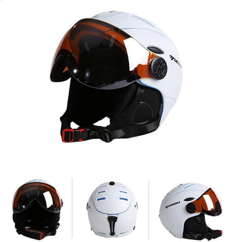 Ski & Snowboard Helmet With Goggles Attached - Fitactivityshop