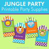 Jungle Party Ideas by Digital Art Star