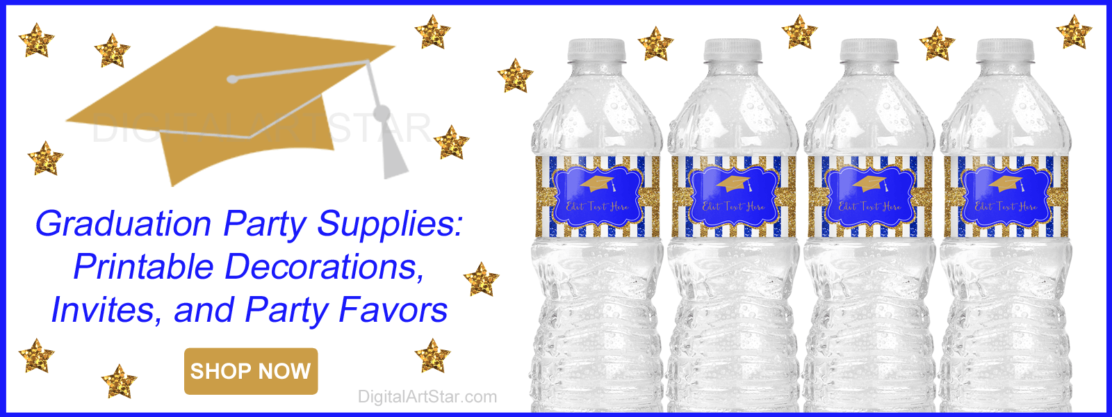 2021 Graduation Party Supplies Printable Decorations Invites Graduation Party Favors