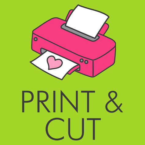 Print and Cut Your Printable Party Supplies by Digital Art Star