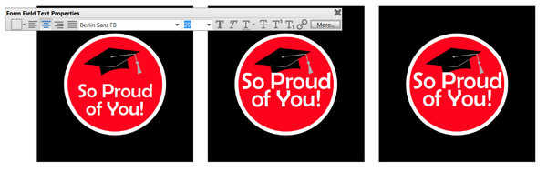 Printable Graduation Cupcake Toppers with Editable Text
