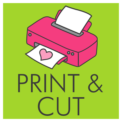print and cut your party printables by Digital Art Star