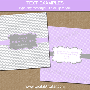 Editable Candy Bar Wrappers for Girl Baby Shower