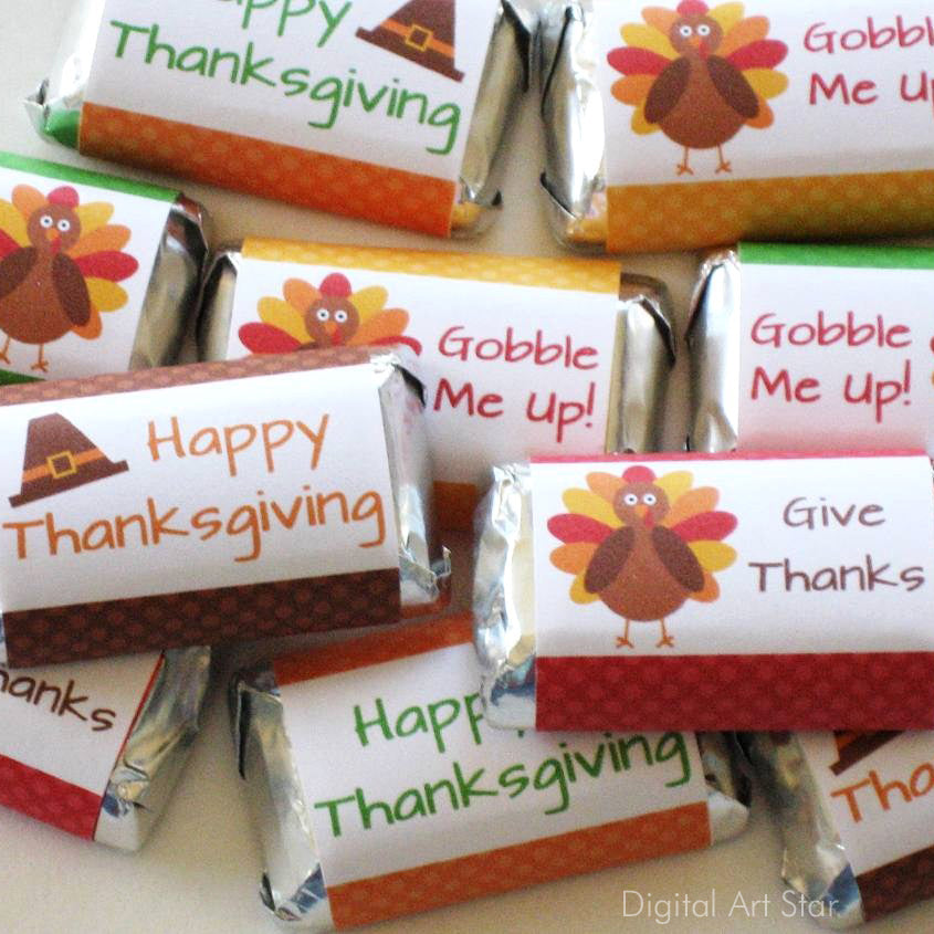 Thanksgiving Party Favor Idea