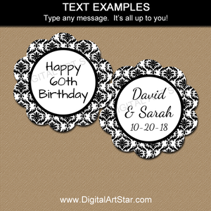 Editable Tags for Birthday, Wedding, More