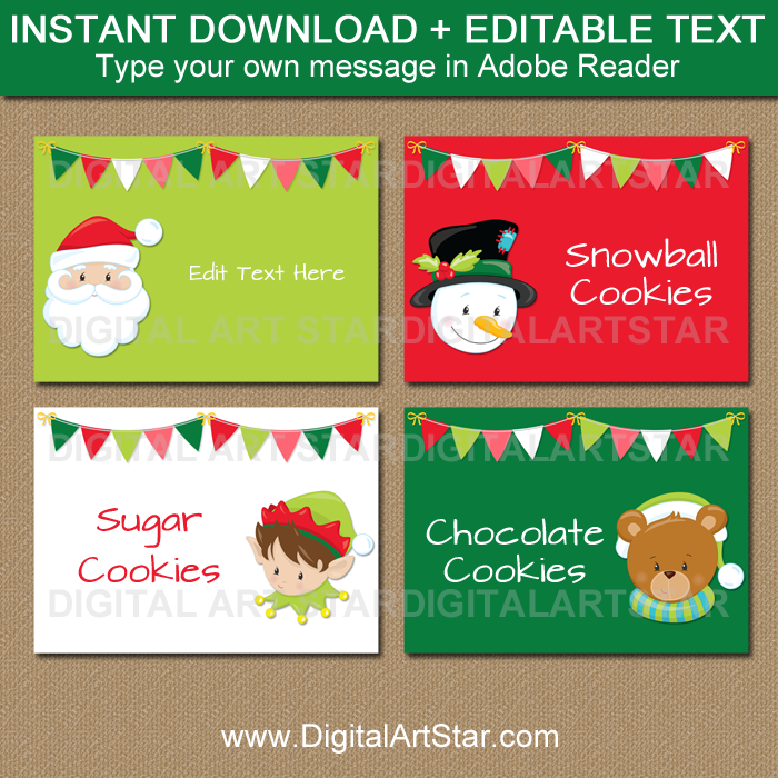 Cute Christmas Ideas For Kids.Cute Christmas Ideas Kids Christmas Labels