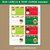 Cute Christmas Labels Editable Template