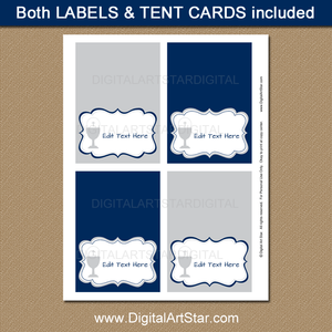 Printable Place Cards for Boy First Communion