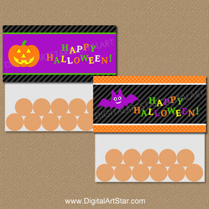 Fun Halloween Bag Toppers for Kids Party