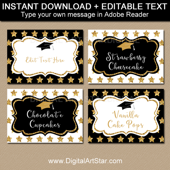 photo about Free Printable Candy Buffet Signs identified as Editable Food items Labels, Level Playing cards, Sweet Buffet Labels