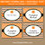 Pumpkin Food Labels for Halloween Party