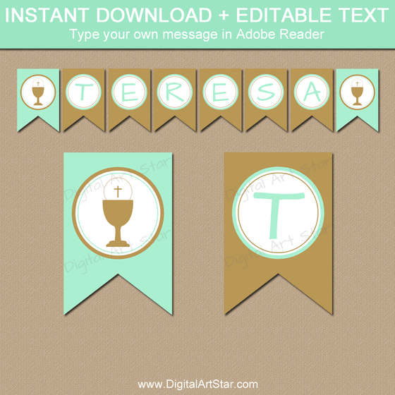 Printable Banners: Party Decorations and Photo Props ...