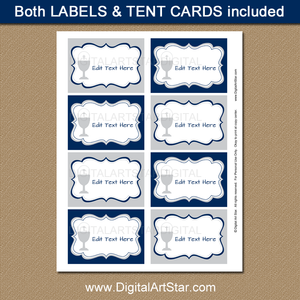 Editable Labels for Boys First Communion