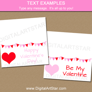 Valentine Goodie Bag Toppers Printable
