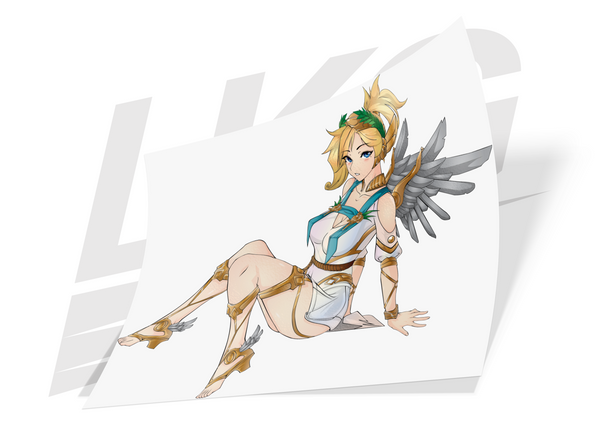 "***COMMEMORATIVE RELEASE!*** -""WINGED VICTORY"" GODDESS MERCY - DIE CUT"
