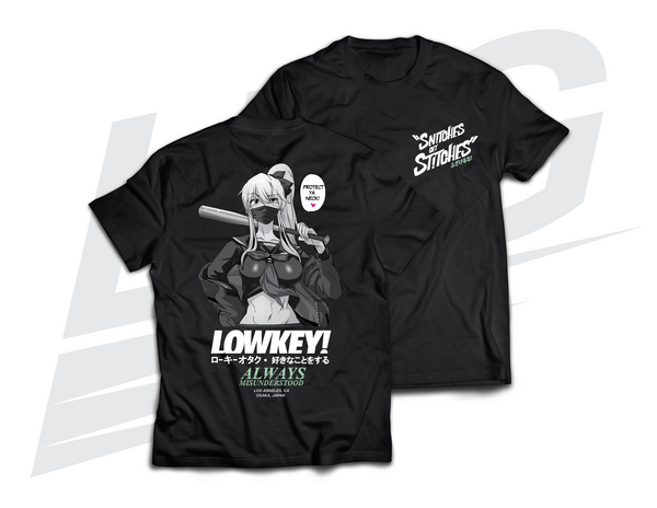 "***FLASH RESTOCK!*** ~ LOWKEY! ""SNITCHES GET STITCHES"" TEE"