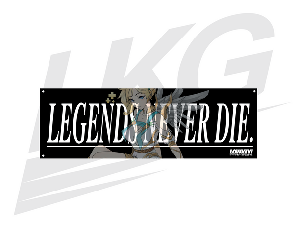 "*** COMMEMORATIVE RELEASE! *** - GODDESS MERCY ""LEGENDS NEVER DIE"" BUMPER"