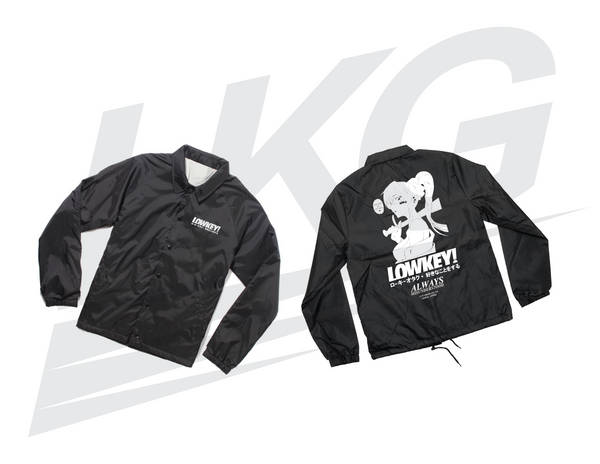 "BLACK FRIDAY PRE-ORDER! ~ LOWKEY! ""HOMETOWN"" BLACK COACH JACKET"