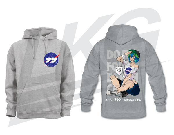 "***ONLY 3 DAYS TO PRE-ORDER!*** ~ LOWKEY! ""EARTH-CHAN"" HOODIE"