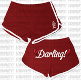 "LOWKEY! ""DARLING"" BOOTY SHORTS"