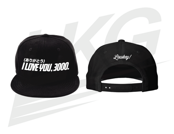 "LOWKEY! ""I LOVE YOU 3000"" SNAPBACK"