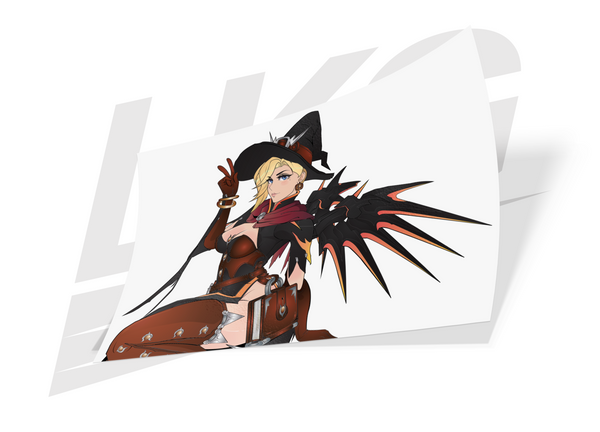 WITCH MERCY DIE CUT