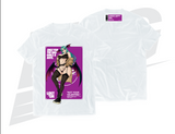 "***ONLY 3 DAYS TO PRE-ORDER!*** ~ LOWKEY! SWW MORRIGAN ""NOT YOUR VALENTINE"" TEE - WHITE"