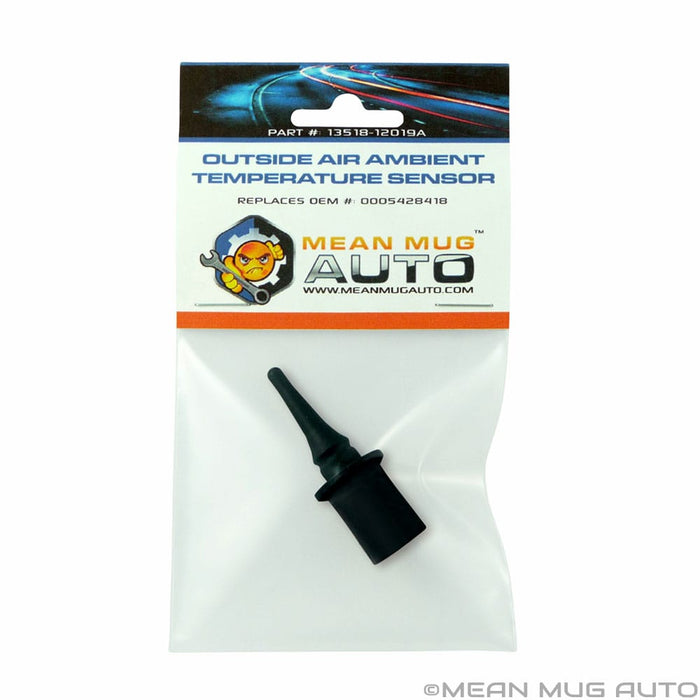 13518-12019A Outside Air Ambient Temperature Sensor - For: Mercedes-Benz - Replaces OEM #: 0005428418 - Mean Mug Auto