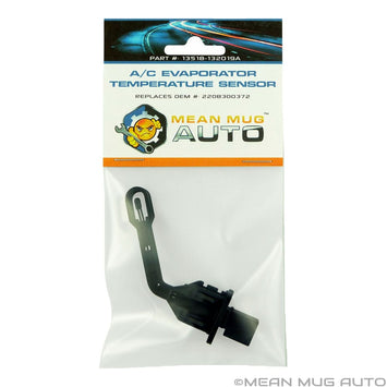 13518-132019A A/C Evaporator Temperature Sensor - For: Mercedes-Benz - Replaces OEM #: 2208300372, 2208300772, 351080401 - Mean Mug Auto