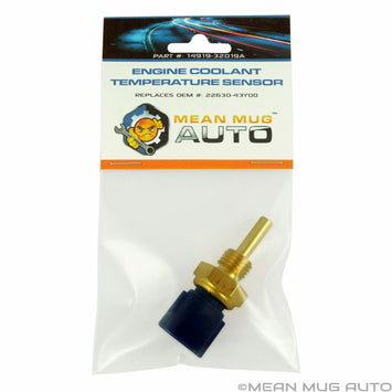 14919-32019A Engine Coolant Temperature Sensor - For: Nissan, Infiniti - Replaces OEM #: 22630-43Y00, 22630-0M200, 22630-71L00 - Mean Mug Auto
